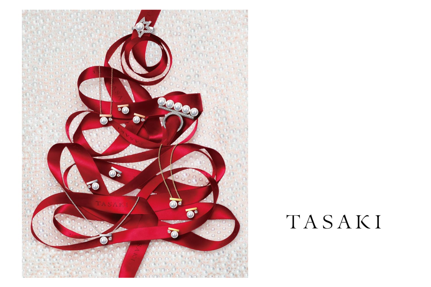 "〈Tasaki〉Tasaki Timeless Christmas 2018 ""Pearly Snow"""